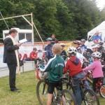 KIDS-Race - die Segnung der Räder und Fahrer