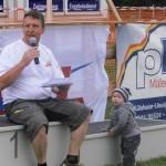 KIDS-Race - Moderator und Rennleiter Ralf
