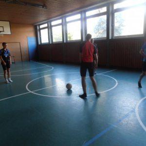 Fußball spielen muss sein