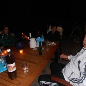 Abends bei Elli