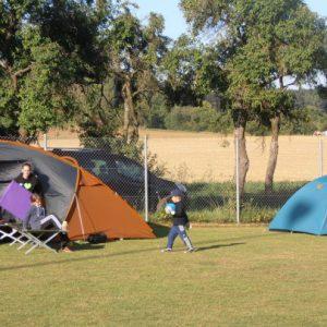 Freies Zelten