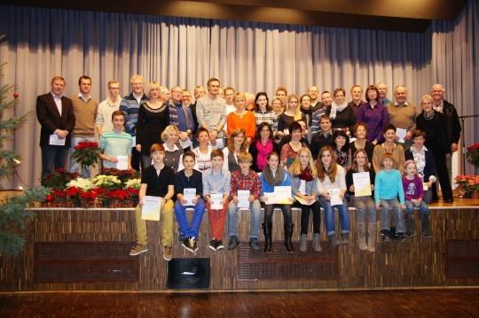 Sportabzeichen 2012