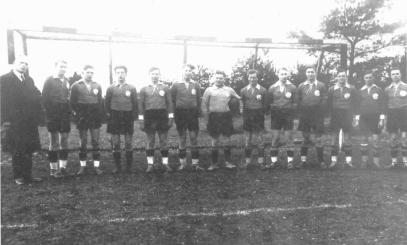 Historisches Mannschaftsbild
