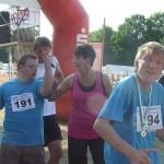 Start 2km Lauf