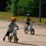 Auch Laufräder waren wieder dabei!