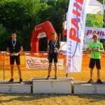 Sieger U16: v.l.: Tobias Trabold, Robin Dörflinger, Tom Donaubauer