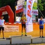 Sieger U13: v.l.: Falko Dörflinger, Jason Becker, Bendix Richter