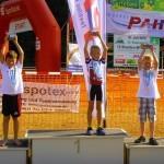 Sieger U10: v.l.: Jakob Düll, Paul Hilgendorf, Luis Mildenberger