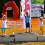 Sieger U7: v.l.: Hanna Mildenberger, Philipp Schäfer, Johanna Düll