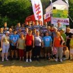 unsere Sportler: Fußballer und Behindertensportgruppe