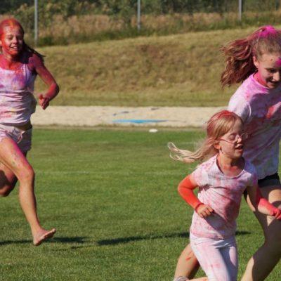 auch das Laufen macht Spaß