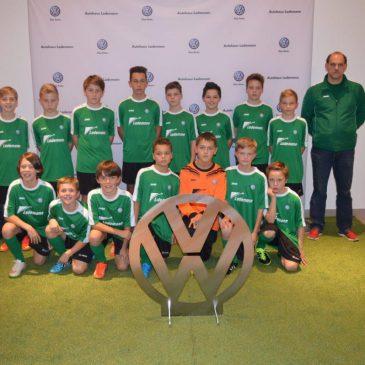 D-Jugend gewinnt Trikots beim Drill-Soccer-Cup