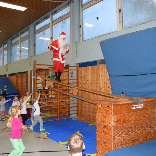 Der Weihnachtsmann hat keine Angst