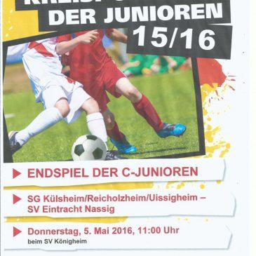 Endspiel Kreispokal der C-Jugend
