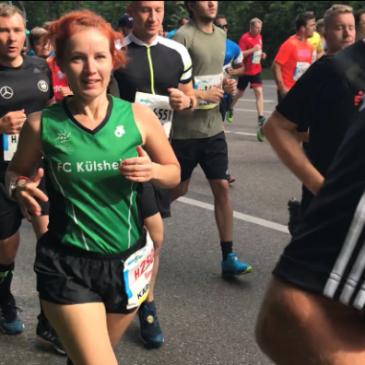 Halbmarathon in Würzburg (beim iWelt Marathon) und Stuttgart (25. Stuttgart Lauf)