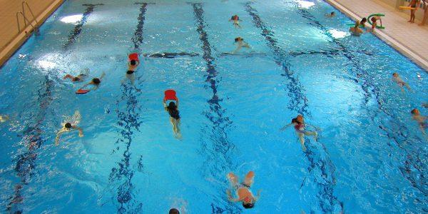 Wir lösen unsere gewonnenen Schwimmbad-Stunden ein!