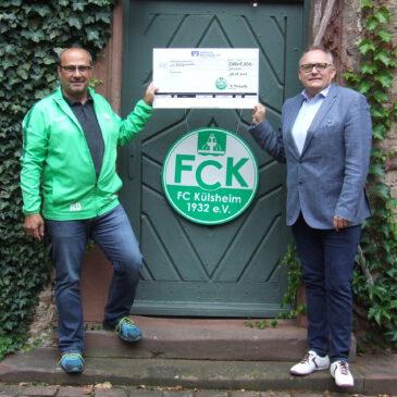 FC Külsheim spendet 1000 Euro für Opfer der Hochwasserkatastrophe